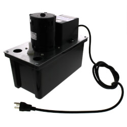 VCL-24ULS, 270 GPH Automatic Condensate Removal Pump w/ Safety Switch (115V) Product Image