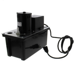 VCL-24ULS, 270 GPH, 230V Auto Condensate Removal Pump w/ Switch Product Image