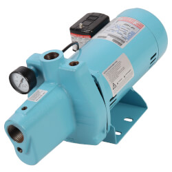 JP-100-C Shallow Well Jet<br> Pump w/ Square D <br>Pressure Switch 1 HP Product Image