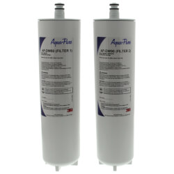 AP-DW80/90, Dual Stage Drinking Water Filtration Cartridges Product Image