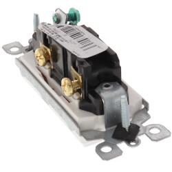 Decora Rocker Switch, Single-Pole - White (15 Amp, 120/277V) Product Image