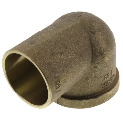 "1-1/2"" CxF 90° Elbow (Lead Free) Product Image"
