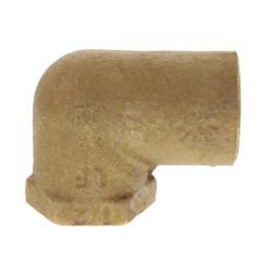 "3/4"" x 1/2"" CxF 90° Elbow (Lead Free) Product Image"