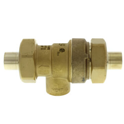 "1/2"" Sweat Dual Check Backflow Preventer w/ Atmospheric Vent Product Image"
