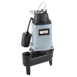 WCS50T 1/2 HP Cast Iron Submersible Sewage Pump Product Image