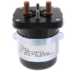 Type 586 Solenoid, 24 VDC Coil, SPNO,Normally Open Continuous Contact Product Image