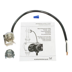 """1/2"""" Clip-On Thermostatic Control for Grundfos UP Series Circulators Product Image"""