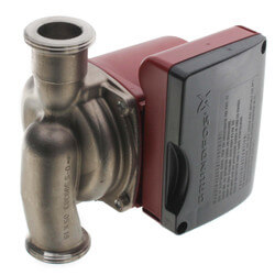 UP15-29SU Circulator Pump, 1/12 HP, 115V Union Connection Product Image