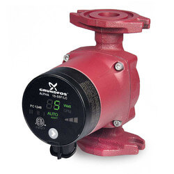 ALPHA2 15-55FR Cast Iron Circulator Pump, 115V, 1/16 HP, GF 15/26 Rotated Flange Product Image