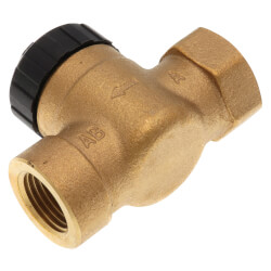 "1/2"" 2-Way Threaded Zone Valve Body (4 Cv) Product Image"