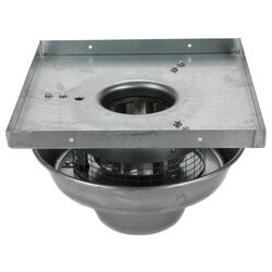 "5DDD Series 18"" Roof Mount Direct Drive Downblast Fan Product Image"
