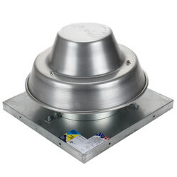 """5DDD Series<br>8"""" Roof Mount Direct<br>Drive Downblast Fan Product Image"""