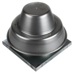 """5DDD Series<br>10"""" Roof Mount Direct<br>Drive Downblast Fan Product Image"""