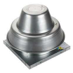 """5DDD Series 10"""" Roof Mount Direct Drive Downblast Fan (1/6 HP) Product Image"""