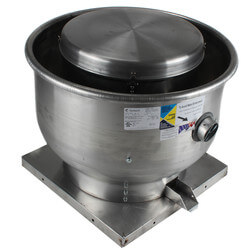 "5DDU Series 10"" Roof /Wall Mount<br>Upblast Centrifugal Fan Product Image"