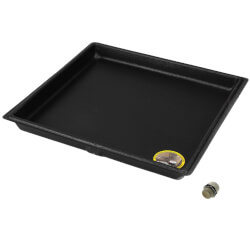 "24"" x 24"" A/C Secondary Condensate Drain Pan Product Image"