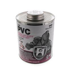 32 oz. Regular Body, Medium Set PVC Cement (Clear) Product Image