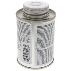 4 oz. Medium Body, Fast Set PVC Cement (Clear) Product Image