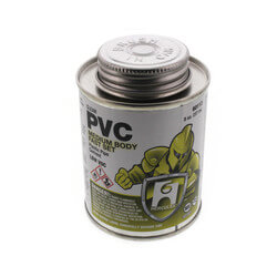 8 oz. Medium Body, Fast Set PVC Cement (Clear) Product Image