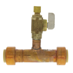 Add-A-Line 3/4 Push Fit x 1/4 OD Compression (No Lead Copper) Product Image