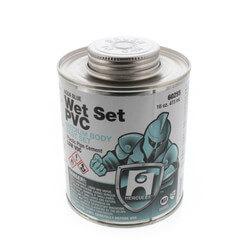 16 oz. Medium Body, Fast Set PVC Cement (Blue) Product Image