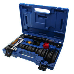 """Deluxe Ratchet Hand Bender w/ Reverse Bend Adapter (1/4"""" to 7/8"""") Product Image"""