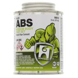 8 oz. Medium Body, Fast Set ABS Cement (Black) Product Image