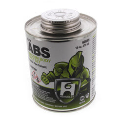 16 oz. Medium Body, Fast Set ABS Cement (Black) Product Image