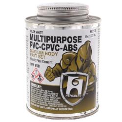 8 oz. Medium Body, Fast Set Multi-Purpose Cement (Milky) Product Image