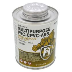16 oz. Medium Body, Fast Set Multi-Purpose Cement (Milky) Product Image