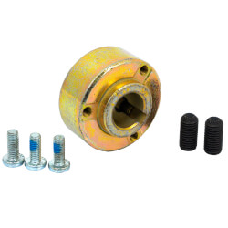"""Hex and Round Hub with 5/8"""" Bore Product Image"""
