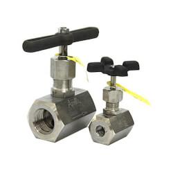 "1/2"" BarStock Needle Valve (Carbon Steel Globe) Product Image"
