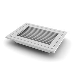 "12"" x 12"" (Wall Opening Size) Extruded Aluminum Filter Grille (RHF45 Series) Product Image"