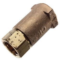 """1/2"""" Threaded Bronze Spring Check Valve Product Image"""