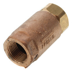 "3/4"" Threaded Bronze Spring Check Valve Product Image"