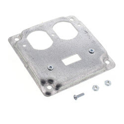 One Switch & One Duplex Receptacle Cover Product Image