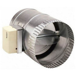 "8"" Round Static By-Pass Damper Product Image"