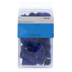 Blue Winged Wire Connectors, Size 88<br>(Pack of 50) Product Image