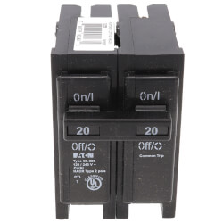 2P UL Classified Universal Circuit Breaker (20A, 120/240V) Product Image