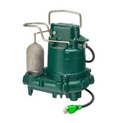 M63 Premium Cast Iron Submersible Sump Pump w/ Float Switch (3/10 HP, 115V, 1 PH) Product Image