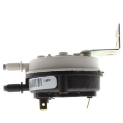 "0.75""WC Dual 1/4"" Barb Connection SPST Pressure Switch Product Image"