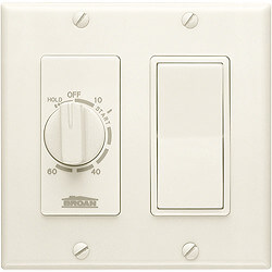 60-Minute Time Control w/ Single Rocker Switch (Ivory) Product Image