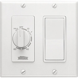 60-Minute Time Control w/ Single Rocker Switch (White) Product Image