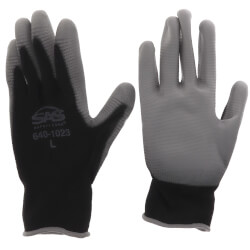 Pawz Polyurethane Coated Palm Gloves - L (Pair) Product Image