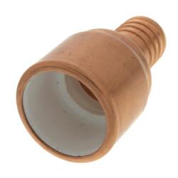 "1"" PVC x 1"" PEX Crimp Straight Adapter (Lead Free) Product Image"