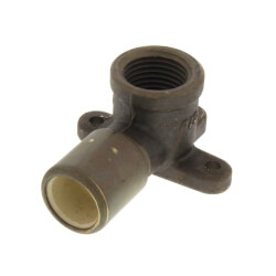 "1/2"" CPVC x FIP Tub/Shower Drop-Ear Elbow (Lead Free) Product Image"