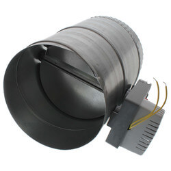 "8"" Round Ventilation Damper (Normally Closed/Power Open) Product Image"