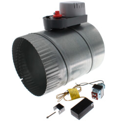 "Kitchen Vent Kit w/ 8"" NC Damper Product Image"