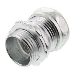"3/4"" Steel EMT Compression Connector Product Image"