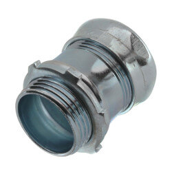 "1"" Steel EMT Compression Connector Product Image"